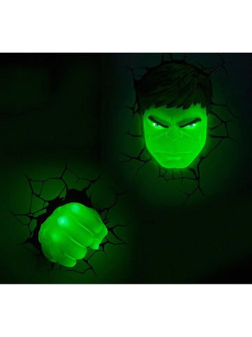 Hulk - Hulk Face 3D Light - Planet Superhero