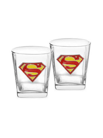 Superman S/2 Badge Glasses - Planet Superhero