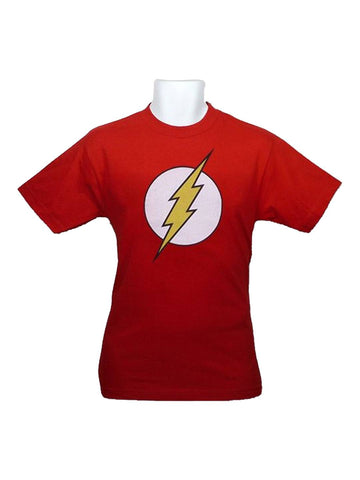 Flash Kids Distressed Symbol T-Shirt - Planet Superhero