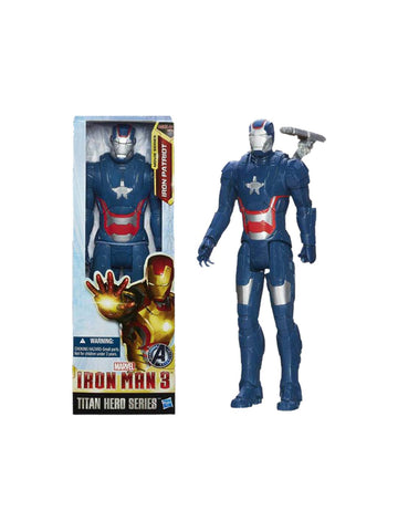 "Iron Man 3 Titan Heroes Iron Patriot 12"" Figure - Planet Superhero"