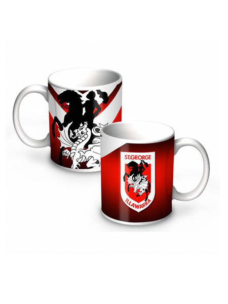 NRL Dragons 11oz Ceramic Mug - Planet Superhero