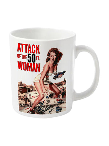 Attack of the 50ft woman mug - Planet Superhero