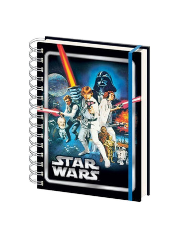 Star Wars A New Hope A5 Notebook