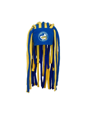 NRL Parramatta Eels Dreadlock Fun Hat - Planet Superhero