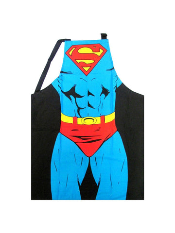Superman Costume Cape Apron - Planet Superhero
