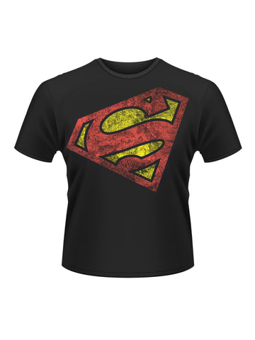 Superman Logo Angled T-Shirt - Planet Superhero