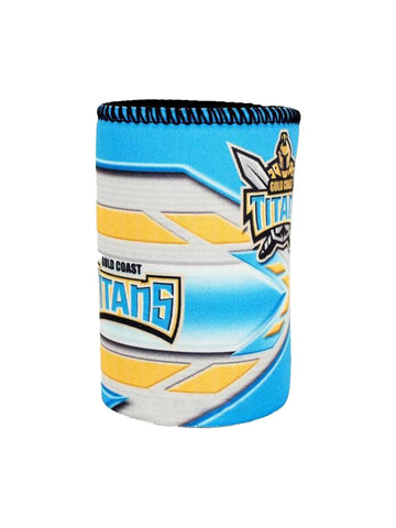 NRL Logo can cooler Titans