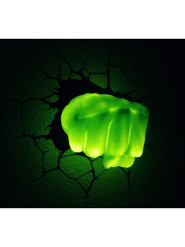 Hulk - Hulk Hand 3D Light - Planet Superhero