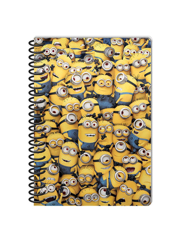 Minion A5 Notebook - Planet Superhero