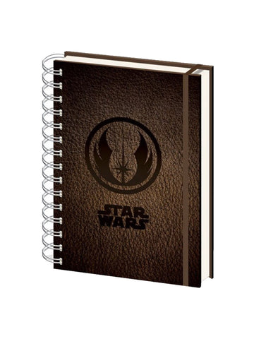 Star Wars Jedi Symbol A5 Notebook - Planet Superhero