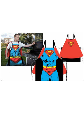 Superman Costume Cape Apron