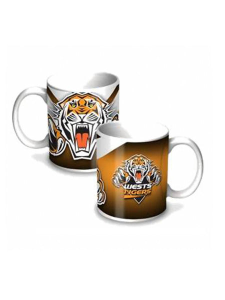 NRL Wests Tigers 11oz Ceramic coffee Mug - Planet Superhero