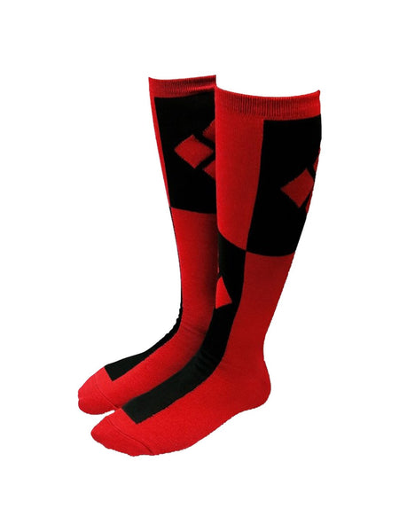 Harley Quinn Knee High Socks - Planet Superhero