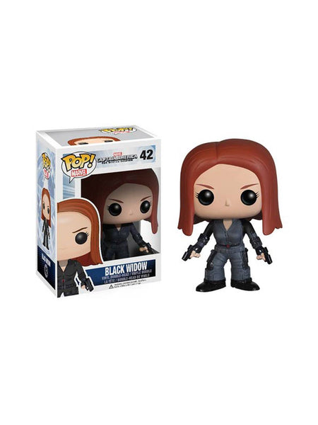 Captain America The Winter Soldier 2 Movie Black Widow Pop! - Planet Superhero