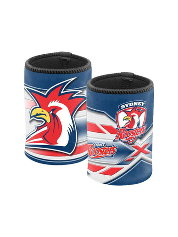NRL Logo can cooler roosters
