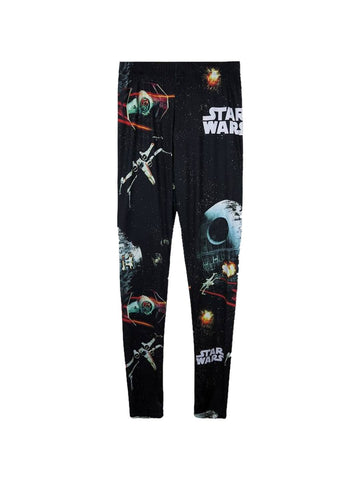 Star Wars Ship Battle Leggings - Planet Superhero