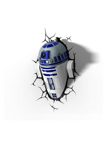 Star Wars 3D Night Light - R2D2 - Planet Superhero