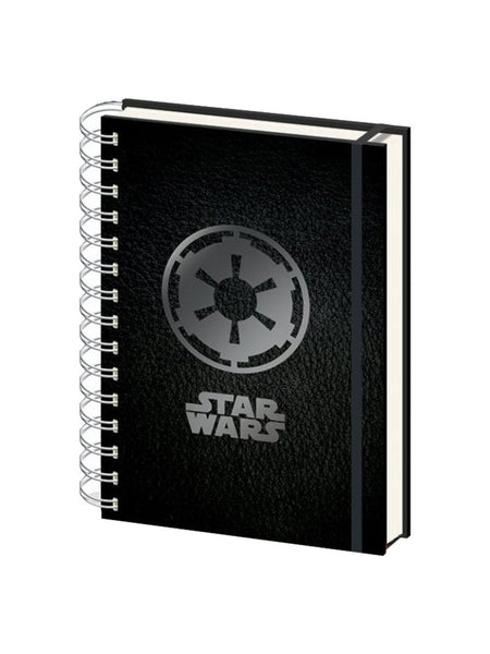 Star Wars Empire Symbol A5 Notebook - Planet Superhero