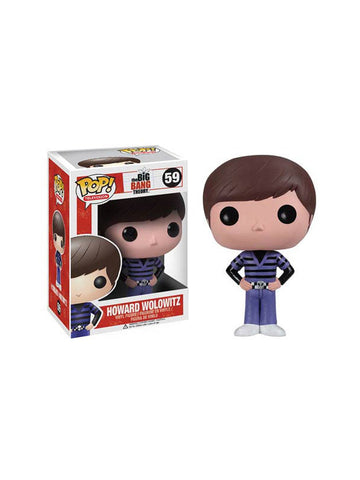 Big Bang Theory Howard Pop Vinyl Figure - Planet Superhero