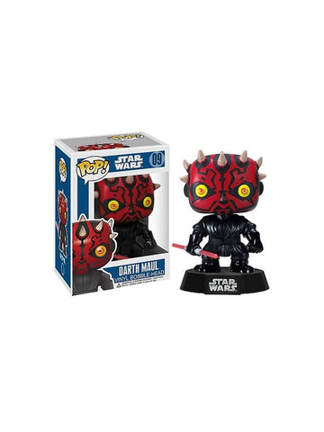 Star Wars Darth Maul Pop Vinyl Bobble Figure - Planet Superhero
