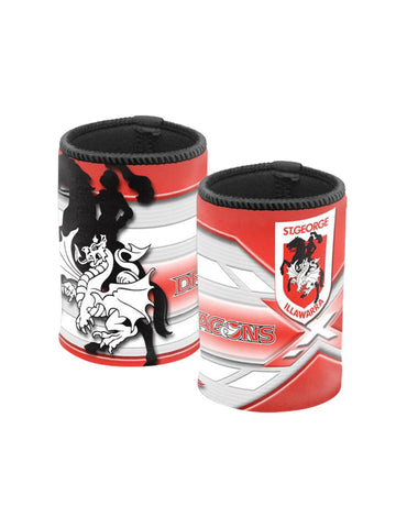 NRL logo can cooler Dragons - Planet Superhero