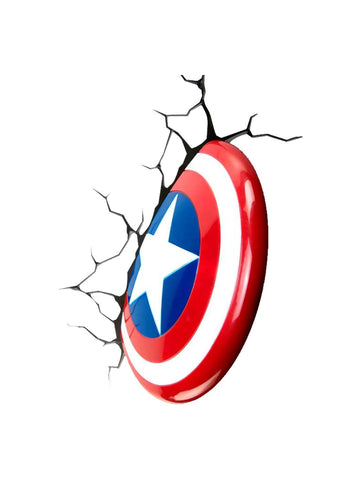 Captain America - Shield 3D Light - Planet Superhero