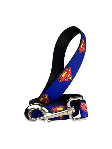 Superman Symbols Dog Leash - Planet Superhero