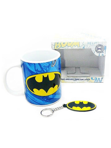 Batman mug and key ring gift pack - Planet Superhero