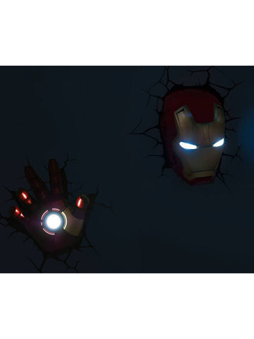 Iron Man - Iron Man Helmet 3D Light - Planet Superhero