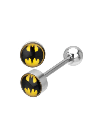 Batman 316L Surgical Steel Barbell - Planet Superhero