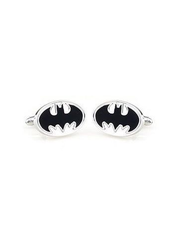 BATMAN-BLACK CUFFLINK - Planet Superhero