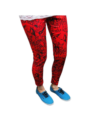 Spiderman All-Over Comic Print Women's Leggings - Planet Superhero