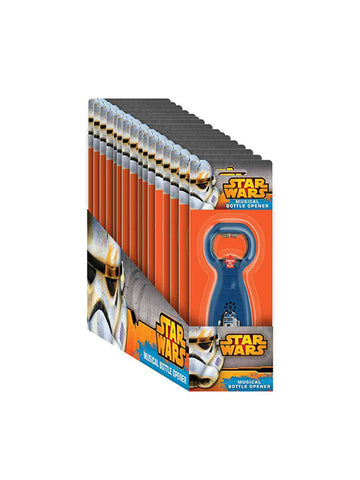 ASST MUSICAL BOTTLE OPENER STAR WARS - Planet Superhero