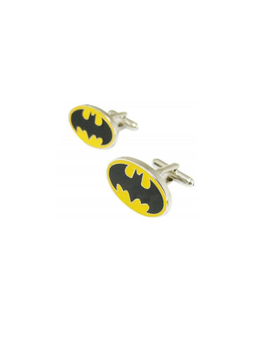 BATMAN-YELLOW CUFFLINK - Planet Superhero