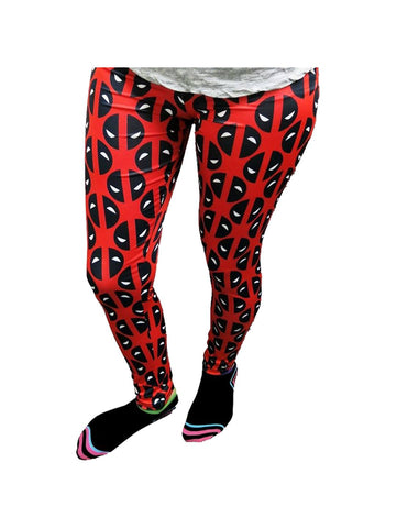 Deadpool Eyes Reversed Women's Leggings