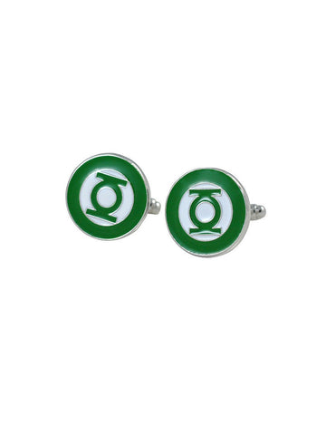 Green Lantern cufflink - Planet Superhero