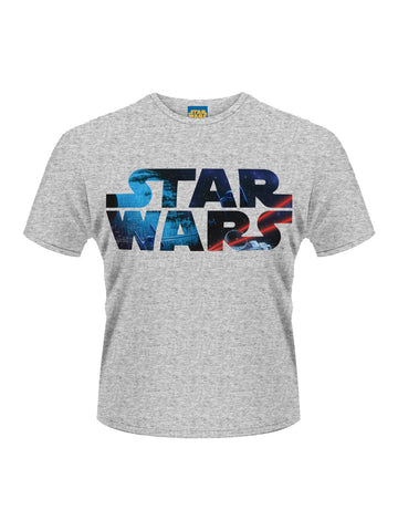 Star Wars Space Logo T-Shirt - Planet Superhero