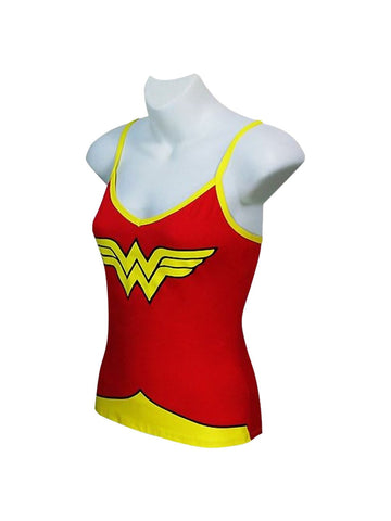 Wonder Woman Glow in the Dark Women's Cami/Panty Set - Planet Superhero