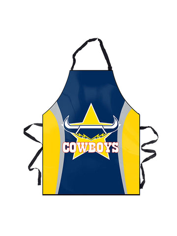 NRL Cowboys BBQ Apron - Planet Superhero