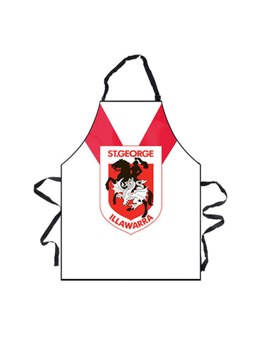 NRL Dragons BBQ Apron - Planet Superhero