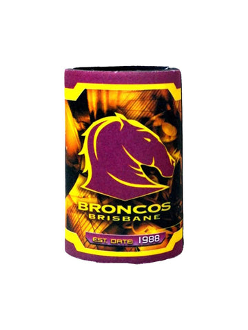 NRL Logo can can cooler Broncos - Planet Superhero