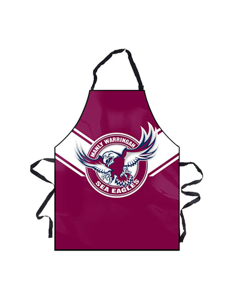 NRL Sea Eagles BBQ Apron - Planet Superhero