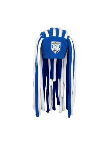 NRL Bulldogs Dreadlock Fun Hat - Planet Superhero