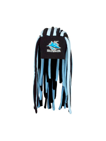 NRl sharks Dreadlock Fun hat - Planet Superhero