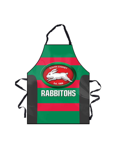 NRL Rabbitohs BBQ Apron - Planet Superhero