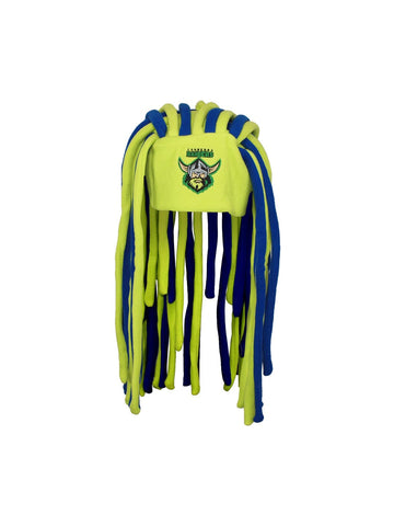Canberra Raiders NRL dreadlock fun hat - Planet Superhero