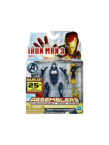Marvel Iron Man 3 Assemblers Sonic Camo Figure