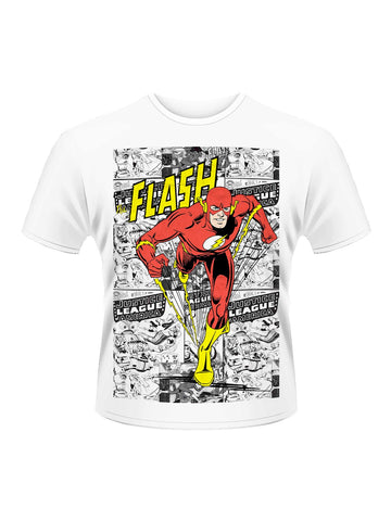 Flash Comic Strip T-Shirt - Planet Superhero
