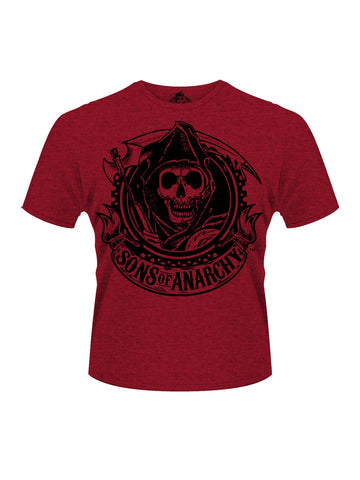 Sons Of Anarchy Reaper Banner T-Shirt - Planet Superhero
