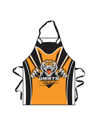 NRL Tigers BBQ Apron - Planet Superhero